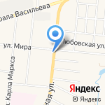 Магазин цветов на карте Узловой