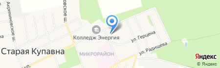 Сауна на Больничном проезде на карте Старой Купавны