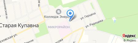 Детская поликлиника №32 на карте Старой Купавны