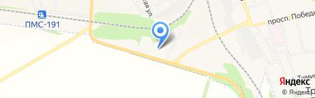 Военизированная пожарная команда №2 на карте Иловайска