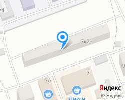 Схема местоположения почтового отделения 142903