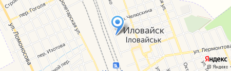 Оптовичок на карте Иловайска