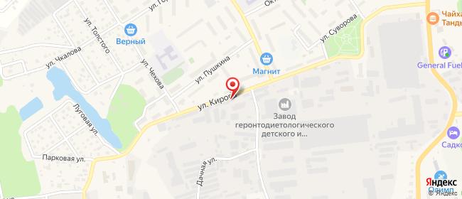 Карта расположения пункта доставки Халва в городе Лосино-Петровский
