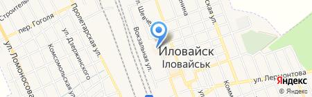 Нова Пошта на карте Иловайска