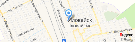 Laridi на карте Иловайска