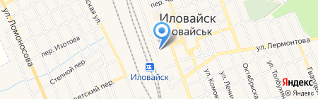 Филин на карте Иловайска
