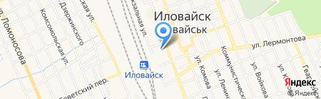 Бим-боу на карте Иловайска
