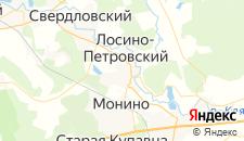 Отели города Лосино-Петровский на карте