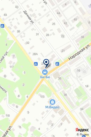 ТФ АФОНЮШКИН А.В. на карте Раменского