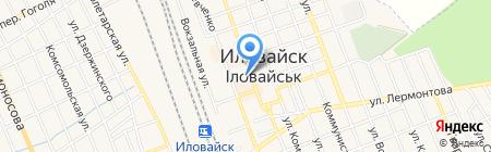 АТБ на карте Иловайска