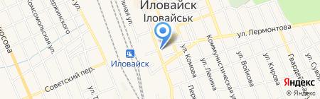 Камамила на карте Иловайска