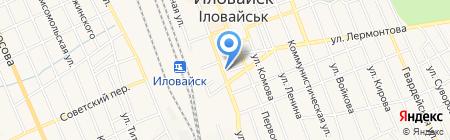 Шарм парикмахерская на карте Иловайска