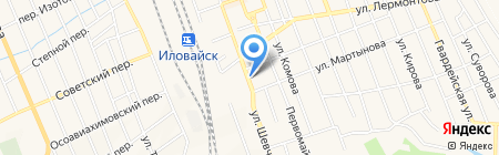 Дарница на карте Иловайска