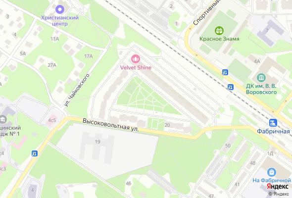 жилой комплекс Парк на Фабричной