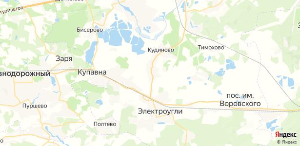 Белая на карте