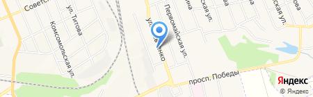 Натали на карте Иловайска