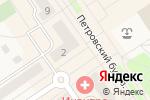 Схема проезда до компании Банк Воронеж в Лосино-Петровском