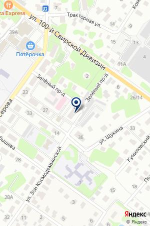 СЕРВИСНАЯ ФИРМА ГОЛУБАЯ СТРЕЛА на карте Раменского