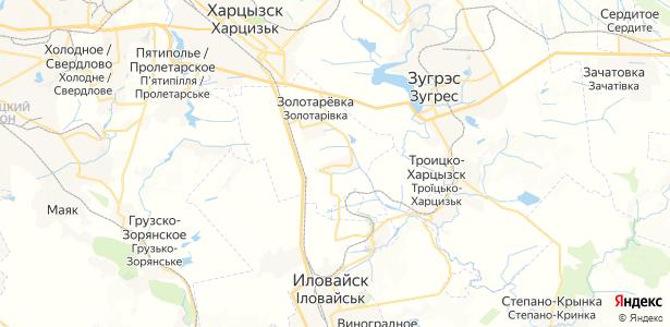 Новопелагеевка на карте