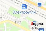 Схема проезда до компании Магазин бытовой химии и хозяйственных товаров в Электроуглях