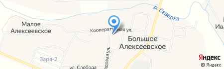 Больше-Алексеевская сельская амбулатория на карте Большого Алексеевского