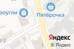 Схема проезда до компании CyberPlat в Электроуглях