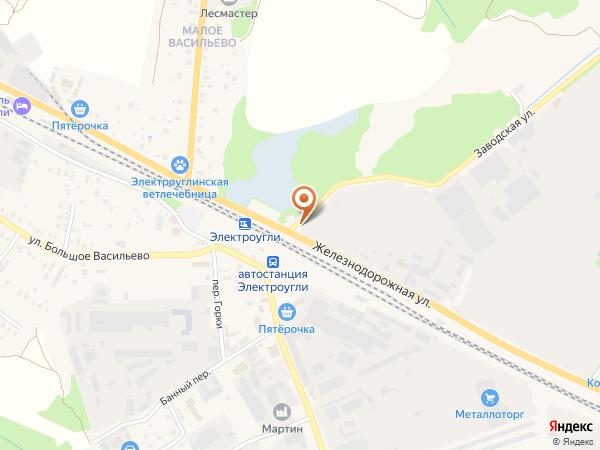 Остановка Электроугли (Московская область)