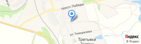 Радуга на карте Иловайска