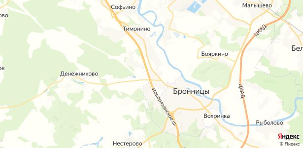 Верхнее Велино на карте