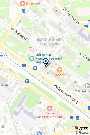 Городская парикмахерская на карте Раменского