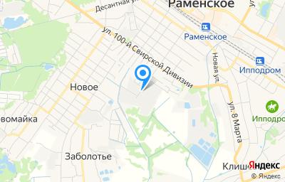 Местоположение на карте пункта техосмотра по адресу Московская обл, г Раменское, ул Москворецкая, д 43
