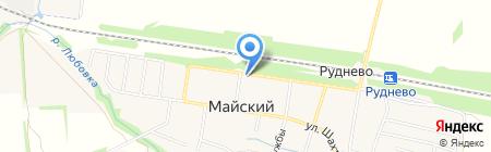 Магазин бытовой химии и хозяйственных товаров на карте 2 Каменецкой