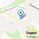 Аэрозоль Новомосковск на карте Новомосковска