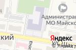 Схема проезда до компании Средняя общеобразовательная школа №11 в Майском