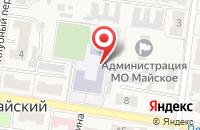 Схема проезда до компании Средняя общеобразовательная школа №11 в 2 Каменецкая