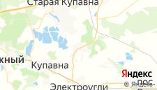 Отели города Кудиново на карте