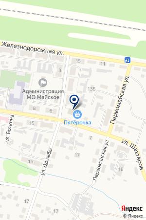 Пятёрочка на карте Богородицк