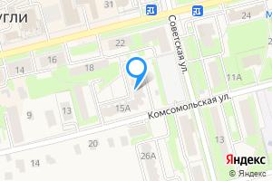 Двухкомнатная квартира в Электроуглях Богородский г.о., Комсомольская ул., 15А
