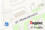 Схема проезда до компании Техноэкоресурс в Электроуглях