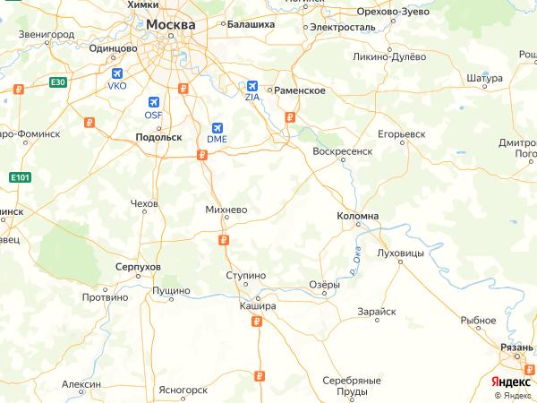 деревня Буньково на карте