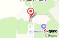 Схема проезда до компании PODBOR 71 в 2 Каменецкая