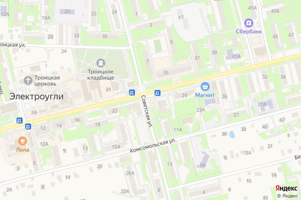 Ремонт телевизоров Город Электроугли на яндекс карте