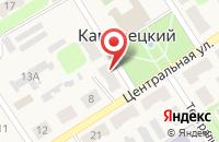 Схема проезда до компании Среднерусский банк Сбербанка России в Каменецком