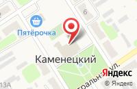 Схема проезда до компании Центр культуры и досуга в Каменецком