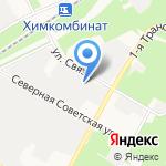 АТП-11 на карте Новомосковска