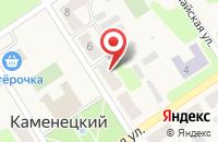 Схема проезда до компании Сеть аптек в Каменецком