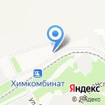 Агроцентр ЕвроХим-Новомосковск на карте Новомосковска