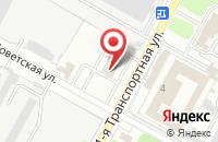 Схема проезда до компании Мундо в Новомосковске
