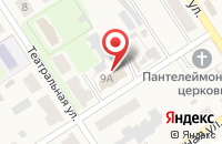 Схема проезда до компании Магазин продуктов в Каменецком
