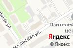 Схема проезда до компании Бахус в Каменецком